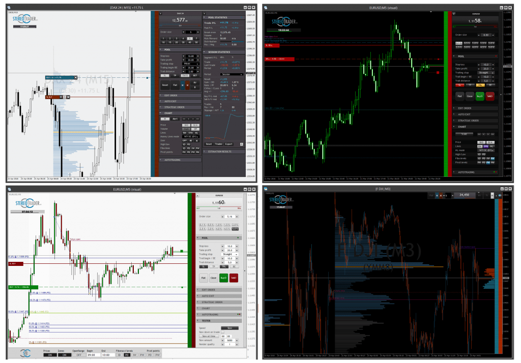 Stereo Trader Screenshot